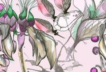 By Cristina Bartl / Prints and patterns created by Cristina Bartl.