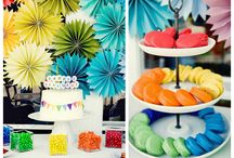 Colourful Party ideas