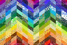 Fabric, Patterns, ETC
