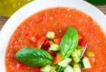 gaspacho et soupes froides