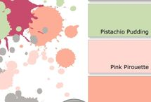 color combinations ~ tolle farbkombis