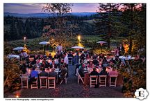 Wine Country + Vineyard Wedding / Oregon is the perfect place for your dream wine country wedding!  Featuring the perfect wedding gowns from Charlotte's Weddings and all the ideas to create the perfect vineyard wedding day.