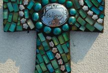 Mosaic ideas for crosses