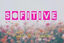 SofiTive / creative, home decoration, 3D, DIY, wall letters, letters