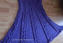 fusta tricotata / fusta pe clos,tricotata cu fir turcesc foarte frumos
