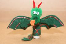 Birthday Party--Dragon / These are sites I used to inspire ideas for my daughter's dragon themed birthday party.