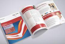 Magazine, Broschüren und Patienteninformationen / brochures and booklets / Ob Themenplanung, Textentwicklung, Bildrecherche oder gestalterische Umsetzung – der Nutzen für die Zielgruppe, bestimmt unser Vorgehen. Für jede Magazin-Ausgabe arbeiten wir eng mit dem Kunden oder Arzt zusammen, so dass sich kommunikative und medizinische Fachkompetenz optimal ergänzen.
