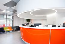 Interior Design :: Large International Bank in Moscow / Project photos, visuals, sketches and plans