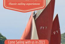 Our Daddy's sailing trips / See where we are heading in the 2017 season. Join us for the sailing experience of a lifetime abourd part of our history 'Our Daddy'