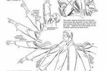 plis et ombrages tissus