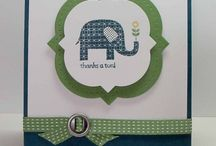 Stamp & Embellish Cards / Cards to inspire and give you ideas