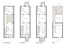 Row houses / Pentru proiect Lemnarilor