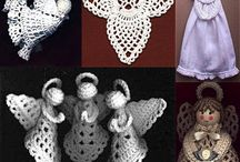 Crochet - decorations / snowflakes, bells