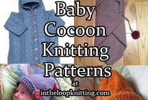 Baby's crochet / knitted projects