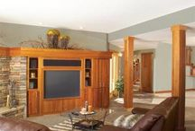 The Basement / Whether you use your basement as a laundry room, rec room, man cave or unfinished storage facility, there always seems to be a number of DIY projects and repairs to complete down there. Here's how to finish your basement, fix common basement problems, and make small upgrades downstairs.