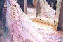 Princess gowns + tulle
