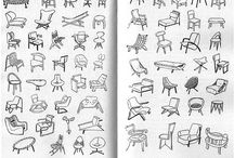Sketch chairs