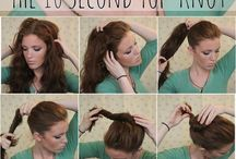 Cheveux ondulés détachés