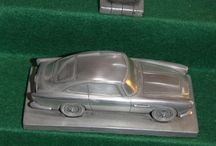 Autosculpt Models / Aluminum dust combined with a resin binder creates beautiful reproductions of classic cars.