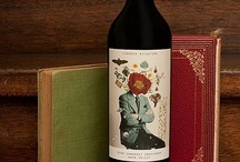 wine bottle and book / wine bottle and book