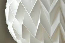 Papir/papp lampe inspirasjon
