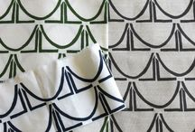 Hand-Printed Textiles by Cecilia Walker