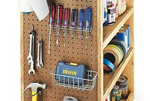 Art- studio storage ideas / by Wanda Caro