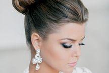 Wedding Hair N makeup N headpiece!