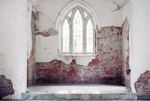 Neglected and Abandoned Houses Churches and Such / by Kathleen Scott-Vilmur