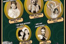 Royal Burlesque Revue Flyers