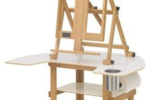 easels/things crafters need