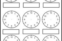 Y4 time clock faces
