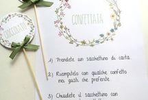 wreath on wedding