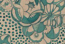 Art Nouveau Design Patterns