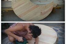 cunas de maderas