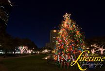 Christmas in Houston / holiday sights around the city past and present