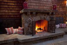 kandalló / fireplace