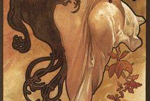 Alfons Mucha kalendáře