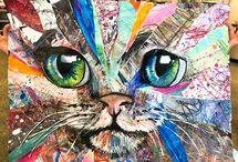 Collage animals
