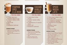 Cafe / Coffee drink recipes