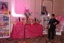 Sweet 16 Candy Theme / These are samples of Candy Station, Candy Buffet and Candy theme Centerpieces
