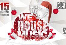We Love House Music #11 / ☆ We Love House Music X-Mas Edition ☆  Facebook Event: https://www.facebook.com/events/141981786160714/  ►►► DER NEUE SAMSTAG im Sektor 7 ◄◄◄  We Love House Music X-Mas Edition, am zweiten Weihnachtsfeiertag. Wir feiern mit euch die Liebe zur House Musik! House, Vocal House, Deep House, Tech House, NuDisco...