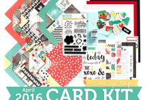Cards: SSS April 2016 / by Cindi Lynch