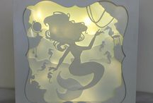 SHADOWBOX-PAPER CUT-QUILLING