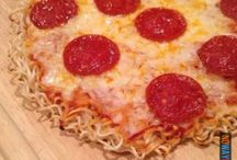 Pizza noodles