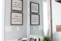 FOR THE HOME: Modern Farmhouse Inspiration / Denver blogger {Beauty In The Mess} is sharing ways to make your house a home that isn't always easy. Here you will find ideas to decorate your home with a modern farmhouse feel.