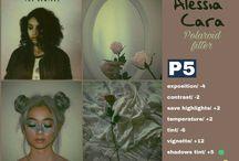 Polaroid filter