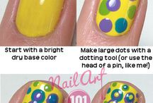Nail Tutorials/Techniques / by MoManisMoProblems