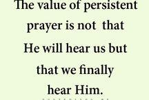 Faith / God is great, God is good.
