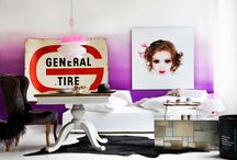 Violet and lilac / Violet and lilac decor ideas.